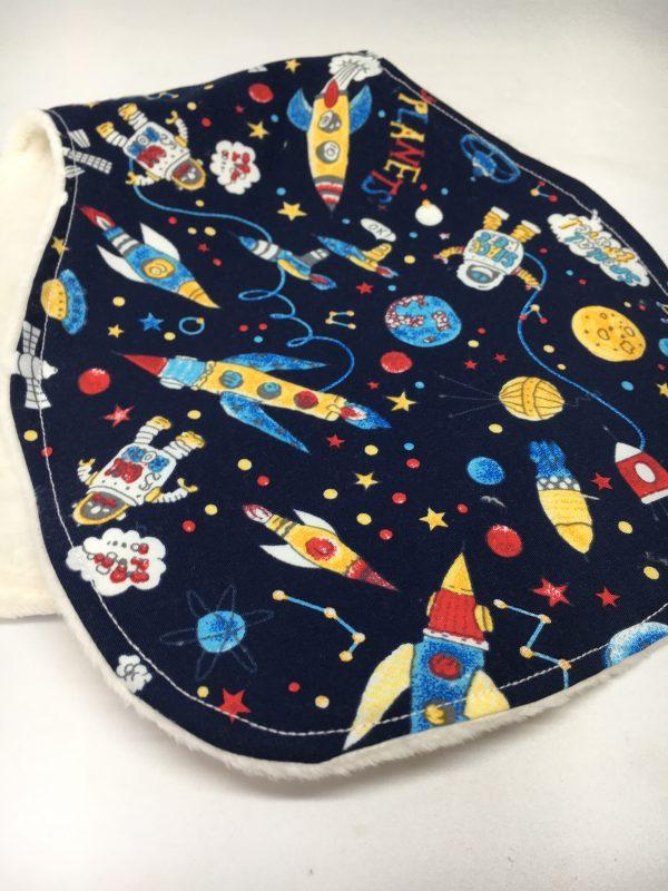 Burp Cloth spaceship