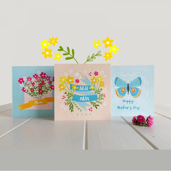 Bundle of 3 Mother's Day Cards