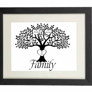 Family Tree Wall Print