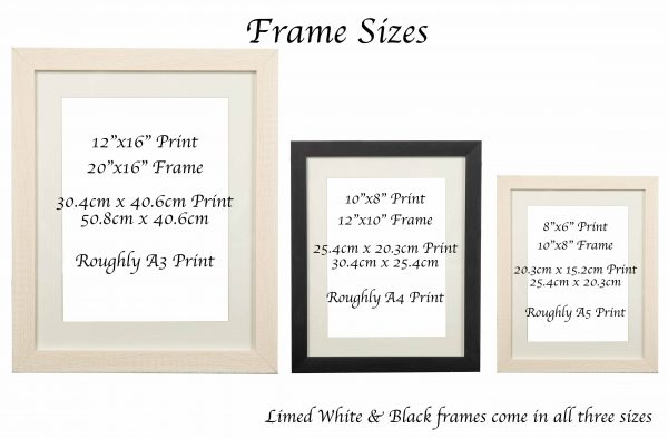 Wash Your Hands Print - Frame Sizes