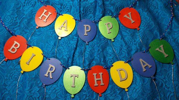 Personalised Balloon Bunting