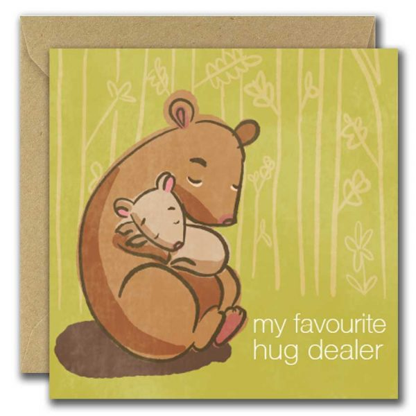 My Favourite Hugdealer Card