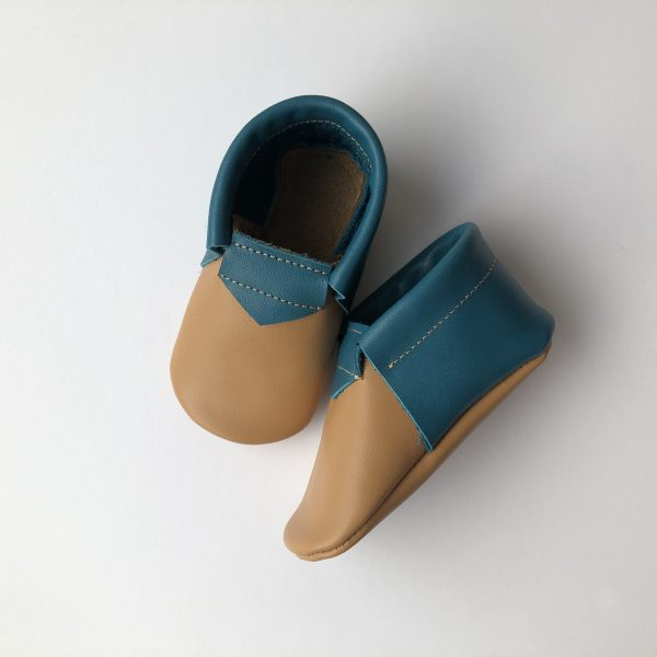 Leather Baby Moccasin Shoes (Girls & Boys) - IMG 1482