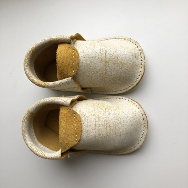 Leather Baby Moccasin Shoes (Girls & Boys) - IMG 1757 rotated