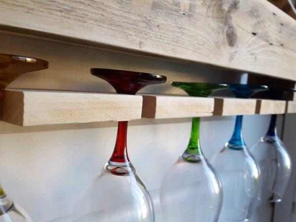 Handmade Wine & Glass Rack - IMG 20190527 194401