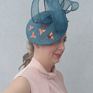 Mia: Jade Disk Fascinator