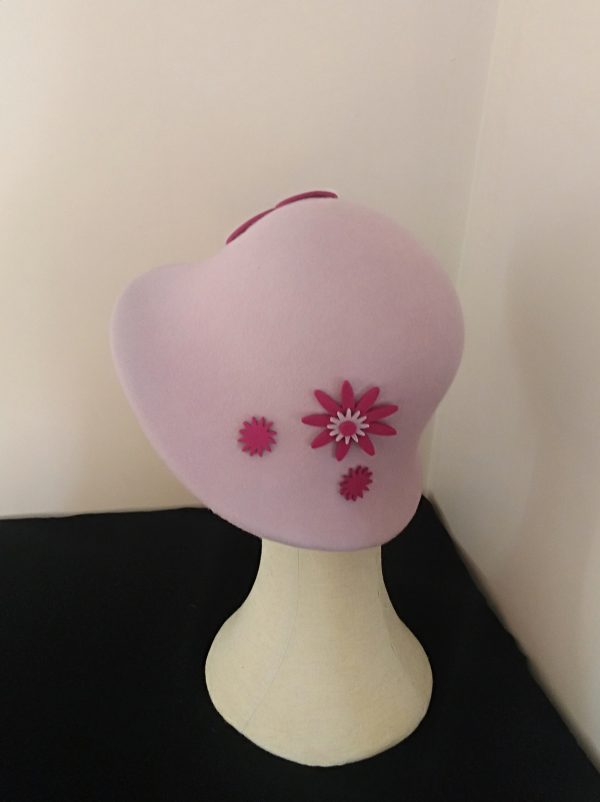 Cora: Lilac and Fushia Cloche Hat - IMG 20201208 110009