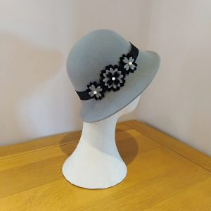 Tina: Grey and Black Hat