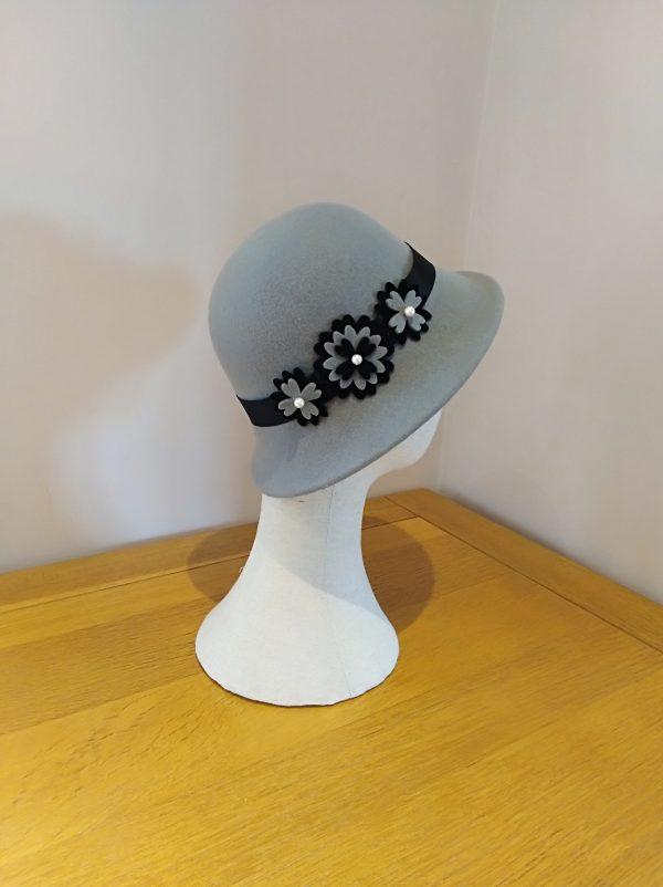 Tina: Grey and Black Hat
