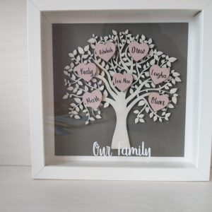 Customised Family Tree Frame