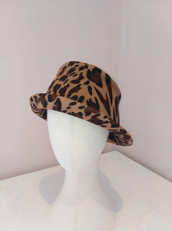 Ruby: Leopard Print Felt Hat. - IMG 20210220 111445