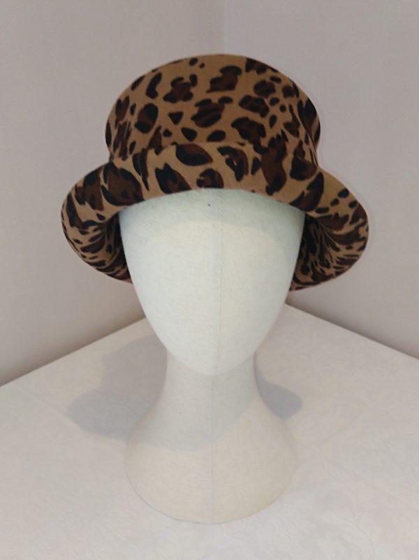 Ruby: Leopard Print Felt Hat. - IMG 20210222 223611