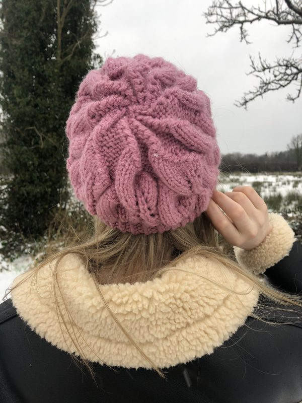 Women's Pink Beanie Hat