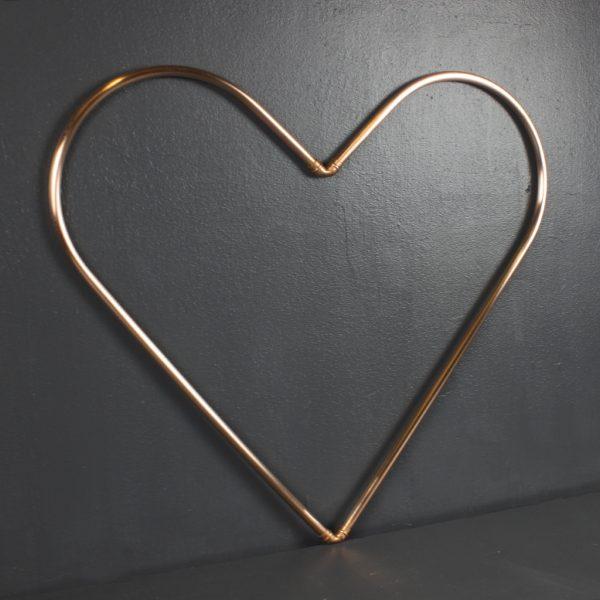 Copper Love Heart - IMG 5264