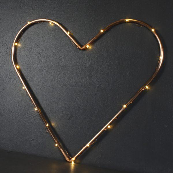 Copper Love Heart