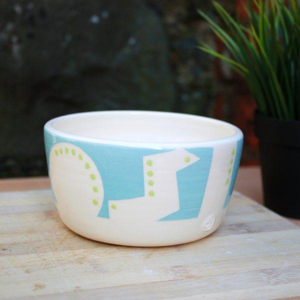 Malibu Blue Cereal Bowl