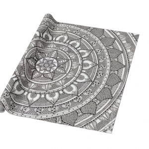 Mandala Gift Wrapping and Card Set