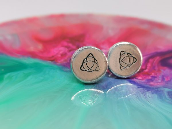 Celtic Triquetra Knot Earrings