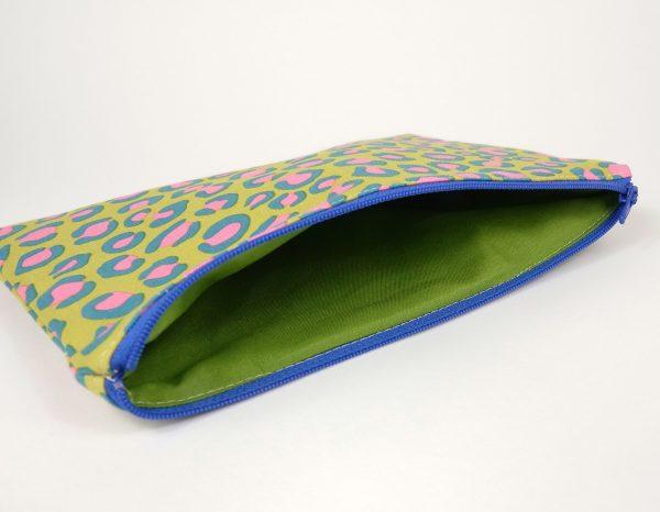 Green Night Jungle Makeup Bag - RX301086