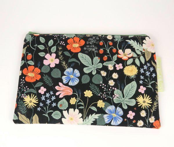 Black Strawberry Fields Makeup Bag - RX301089