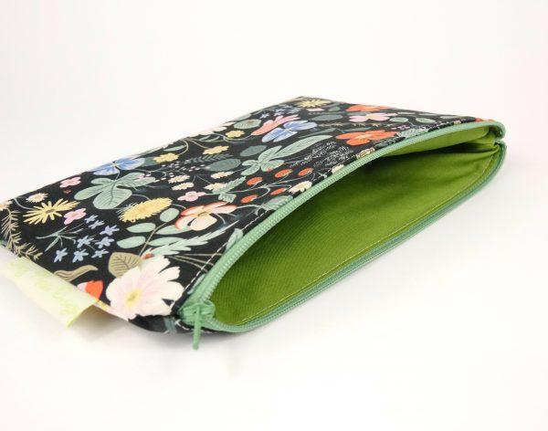 Black Strawberry Fields Makeup Bag - RX301090