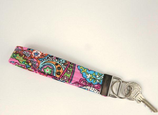 Paisley Wristlet Key Chain - RX301103