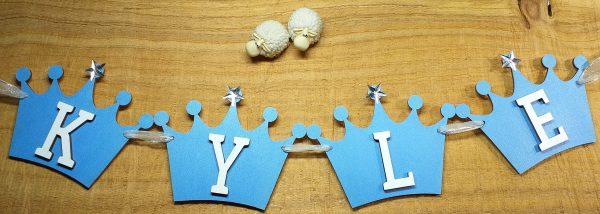 Personalised Crown Bunting