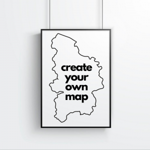 Create Your Own Map Print