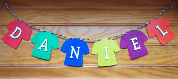 Personalised Jersey Bunting