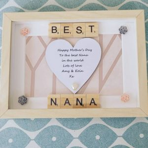 Personalised Best Nana Frame