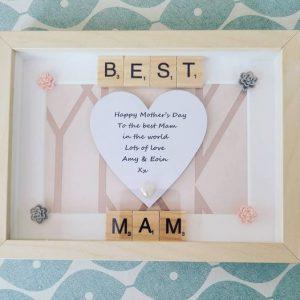 Best Mam Personalised Frame