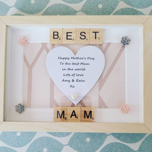 Best Mam Personalised Frame
