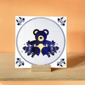 Teddy Bear Picnic Art Tile