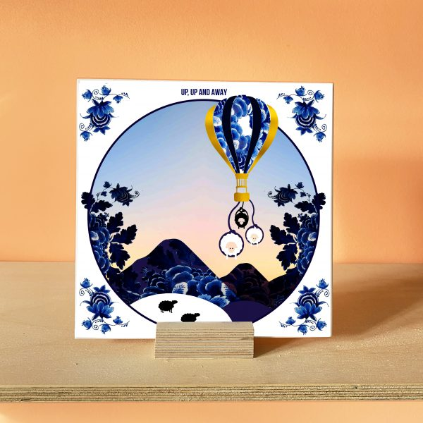 Up, up and Away! Art Tile