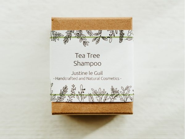 Tea Tree Shampoo - Dandruff & Sensitive Scalp