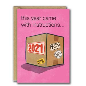 This Year Came With Instructions...