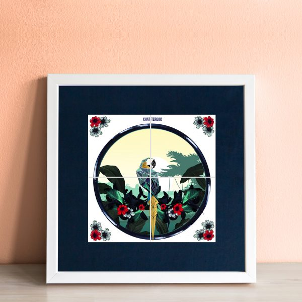 Chatterbox Art Tile -