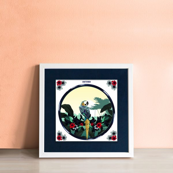 Chatterbox Art Tile - workingdocument singleframed chatterbox copy
