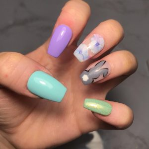 Easter Bunny Press-On Nails