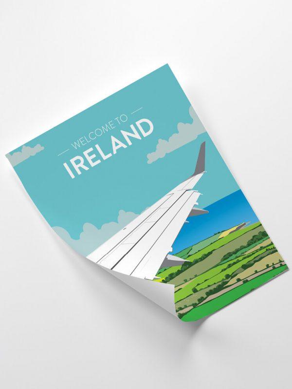 Welcome To Ireland Travel Giclée Print - 12 HapennyIreland2