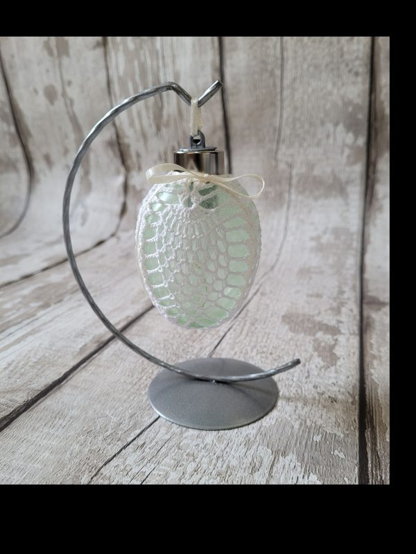 Led Easter Egg Bauble Ornament on a Metal Stand - 20210303 153601