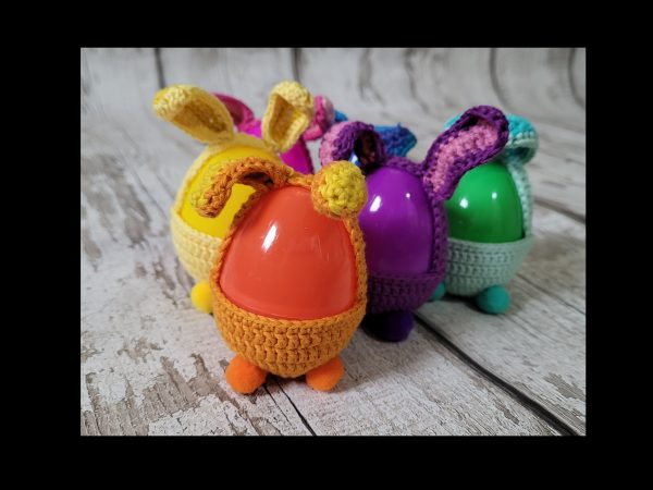 Handmade Crochet Hunt Easter Eggs Set of 6 - 20210303 155826