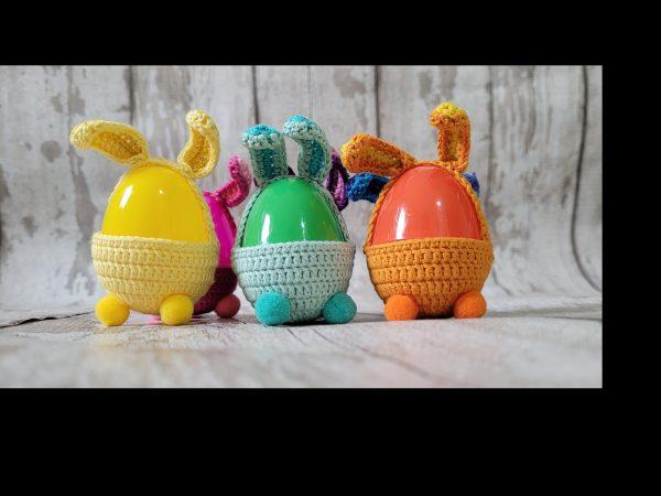 Handmade Crochet Hunt Easter Eggs Set of 6 - 20210303 160059