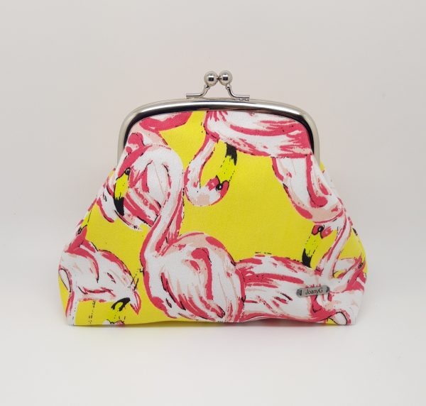 Pink Flamingo Clutch Bag - 20210325 144859