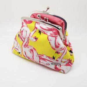 Pink Flamingo Clutch Bag