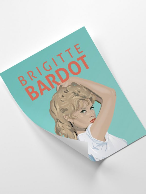 Brigitte Bardot Giclée Print - 20 HapennyBrigitte3