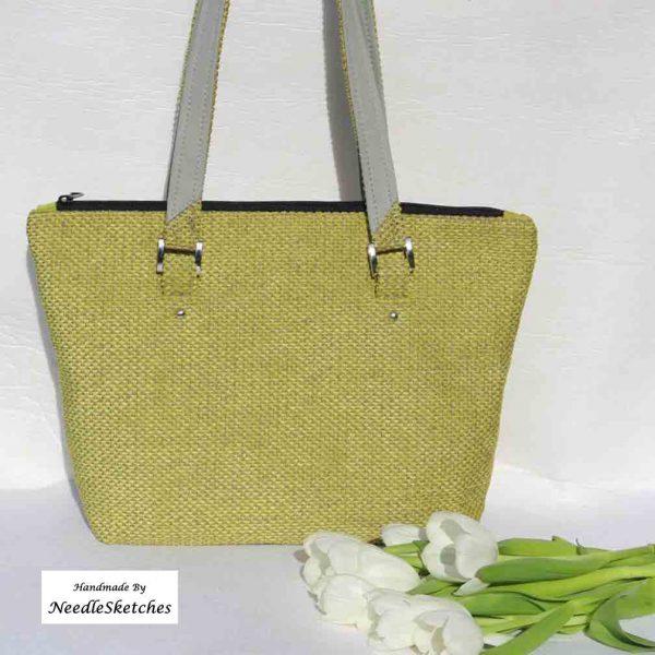 Lime Green Shoulder Bag