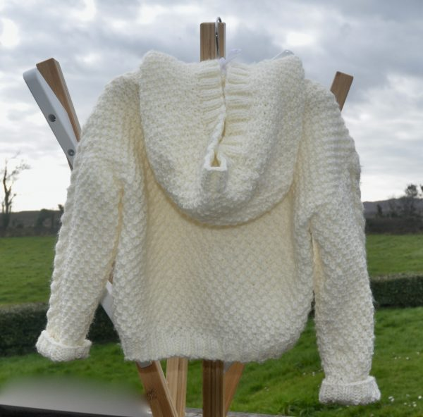 Irish Classic Knitted Hooded Jacket - 2B526B38 7978 4E55 B3A1 72E145DAABA2 1 201 a