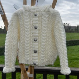 Irish Classic Knitted Hooded Jacket