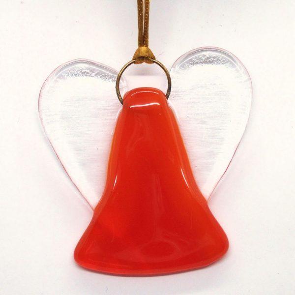 Fused-Glass Mini-angel Suncatcher - 433